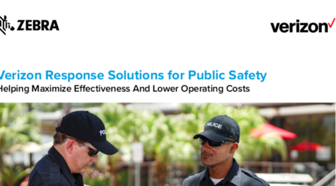 Verizon Response Solutions for Public Safety